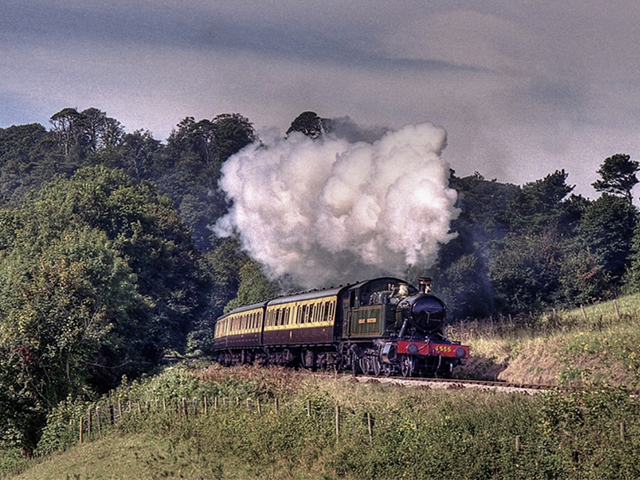 Join us for a second day at Paignton using GWR No.4555 on a short branch line passenger train.
