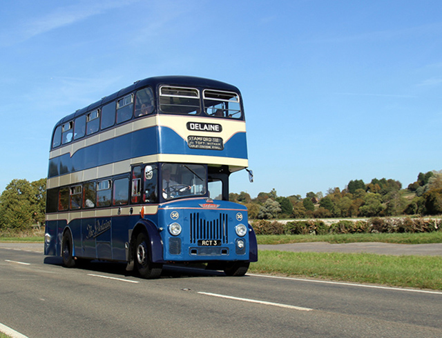 A day around the villages of Lincolnshire photographing a 1960 PD3 bus