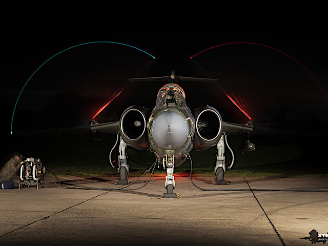 An afternoon and evening of close up Jet photography at former RAF Bruntingthorpe