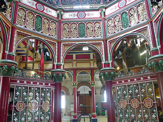 Architecture, portraits & steam punk at the fascinating and ornate Crossness pumping station