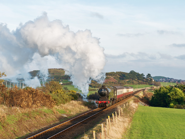 Join us for a day of Winter steam action at North Norfolk Railway using 8572 with red/cream coaches