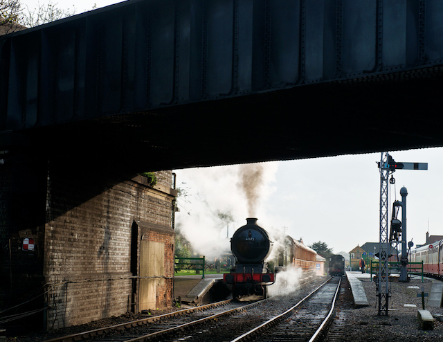A full day of steam photography at the North Norfolk Railway with LNER 8572 and Quad-art teak set