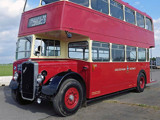 A grand day out in Gloucestershire with superbly restored Cheltenham-liveried half-cab Bristol KSW
