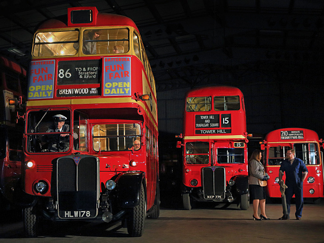 Recreating the sights and sounds of a traditional London Bus Garage