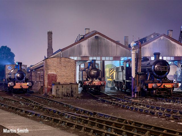 A NIGHT WITH NO LIGHT at Didcot Railway Centre