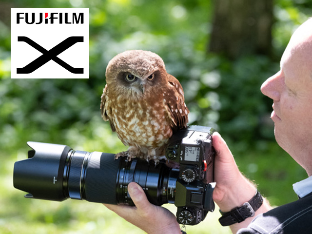 Birds of Prey Photography & Training day at the Andover Hawk Conservancy with Fujifilm!