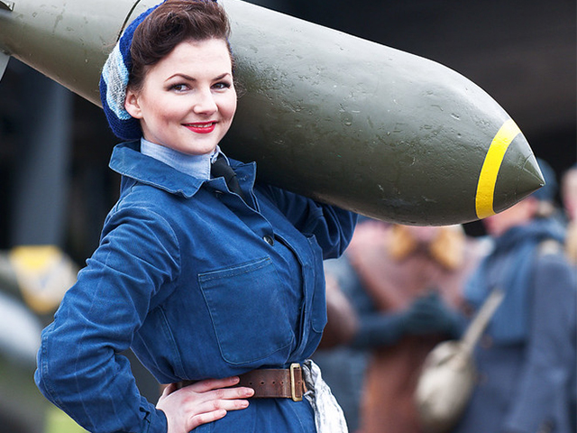 An afternoon & evening of re-creating period war air base scenes in the heart of Lincolnshire