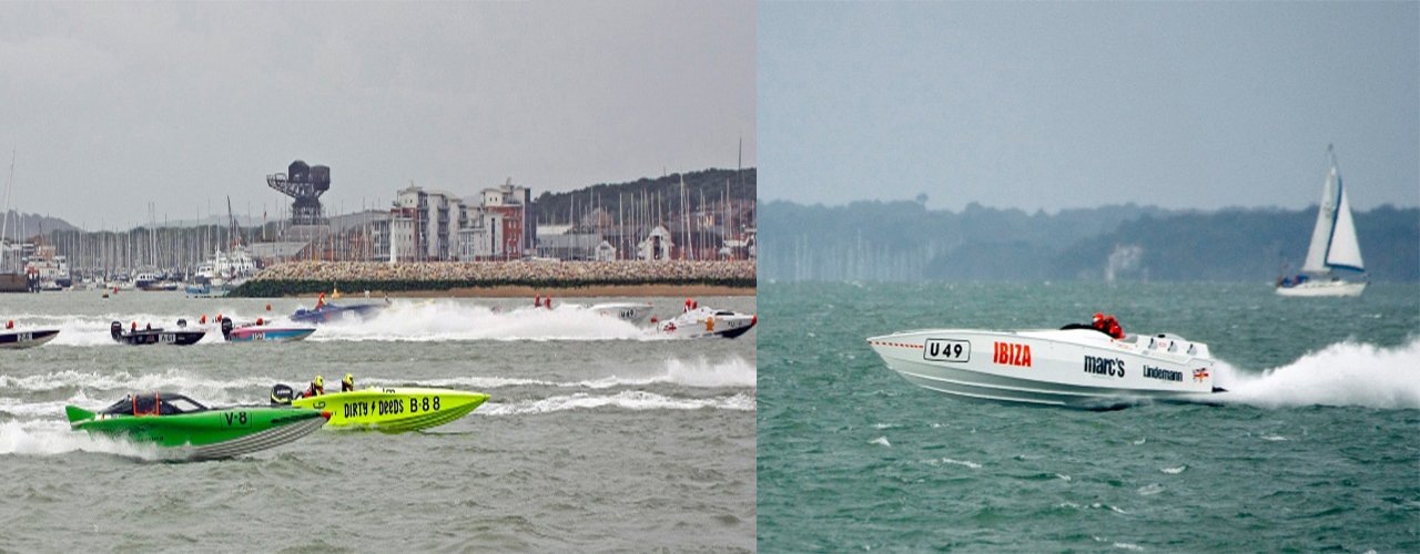 A day full of adrenaline capturing British Offshore