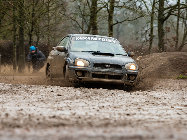 Learn how to capture fast paced action with Rally Cars at the London Rally School