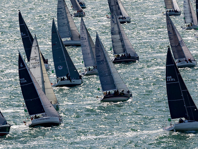 Capturing the action at the 2021 Rolex Fastnet Race