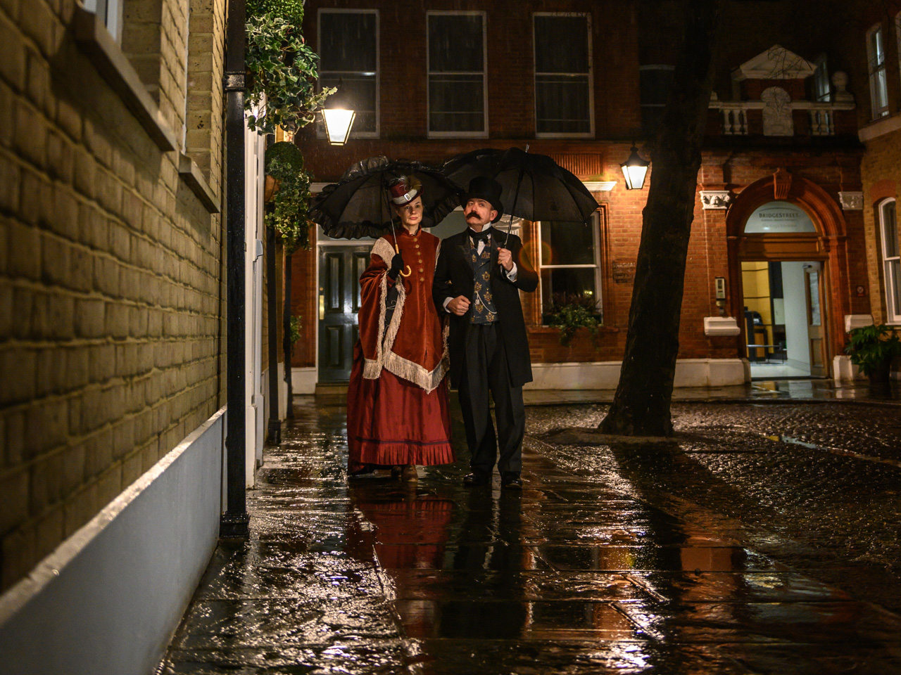 A trip back to the Victorian era as we recreate scenes from the past on the old streets of Norwich