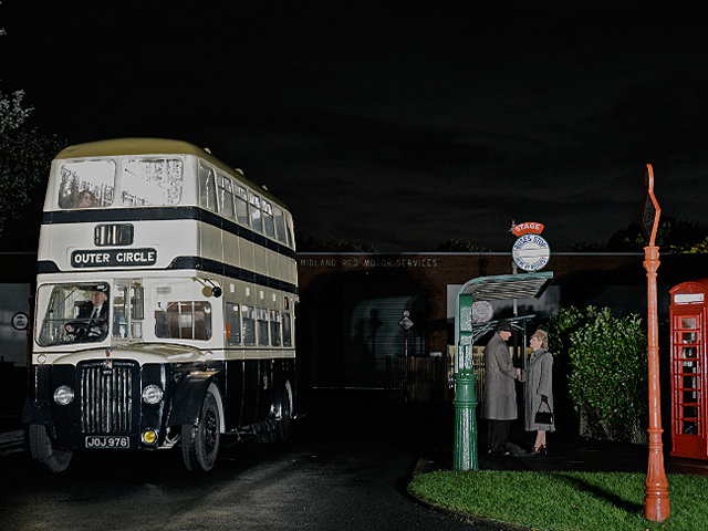 An evening of photography featuring superb 1940s, 50s and 60s vehicles from the BAMMOT Collection