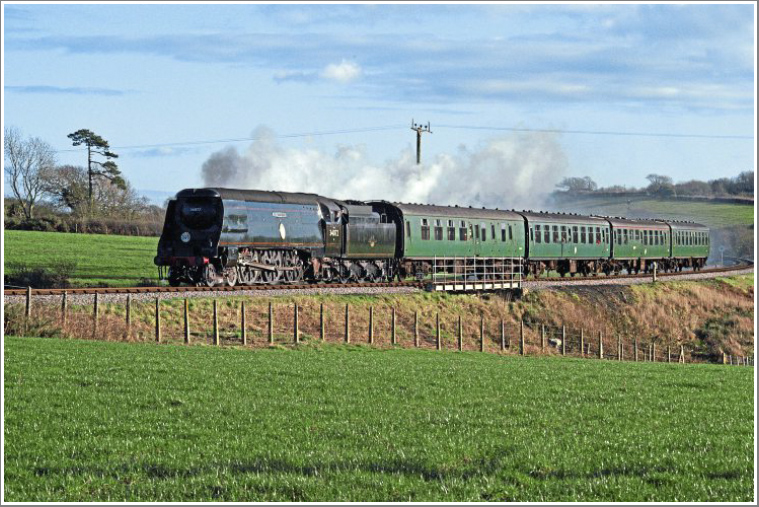 Join us for a full day of photography at the Swanage Railway featuring BR(S) No.34072 257 Squadron, Tuesday 5th March 2019
