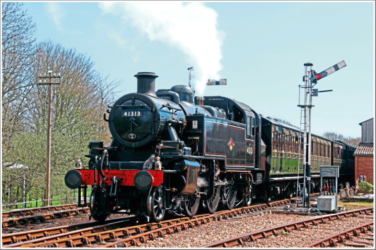 Join us for the second of two days of steam action on the Isle of Wight with BR Ivatt 2MT No.41298, Tuesday 2nd April 2019