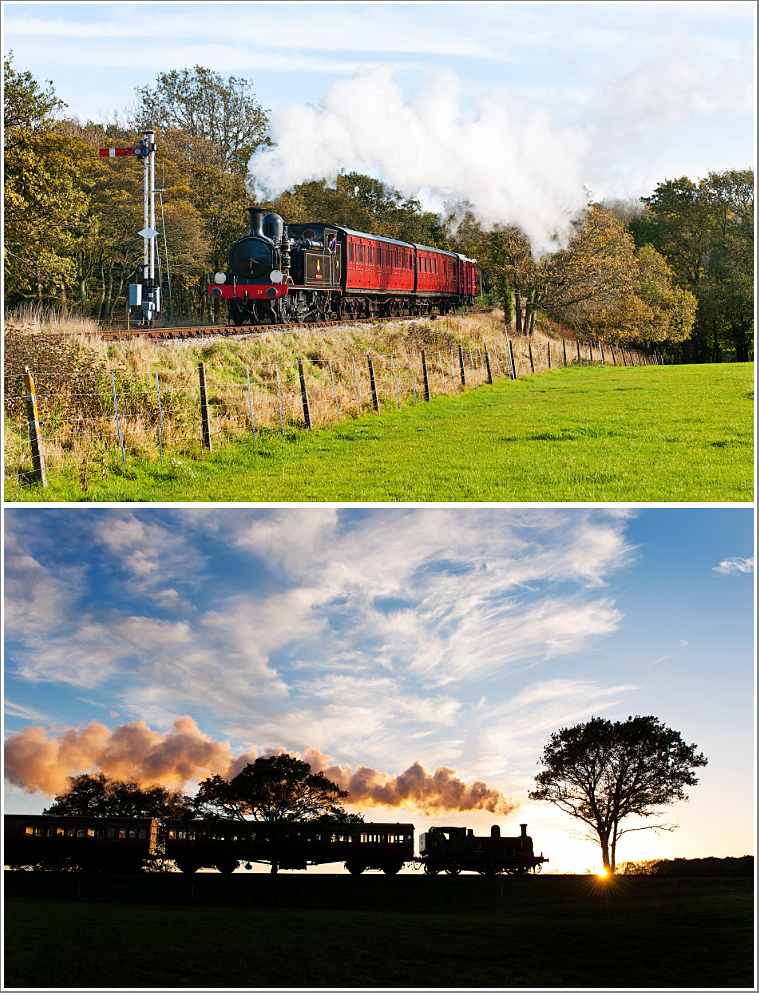 Join us for the first of two days of classic steam action on the Isle of Wight with 02 Calbourne, Monday 1st April 2019