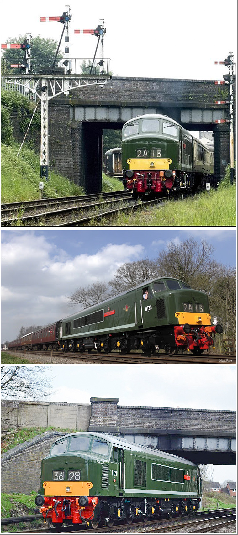 Relive the 1960s as we spend a day photographing a Class 45 'Peak' on goods stock and the TPO Monday 25th March 2019