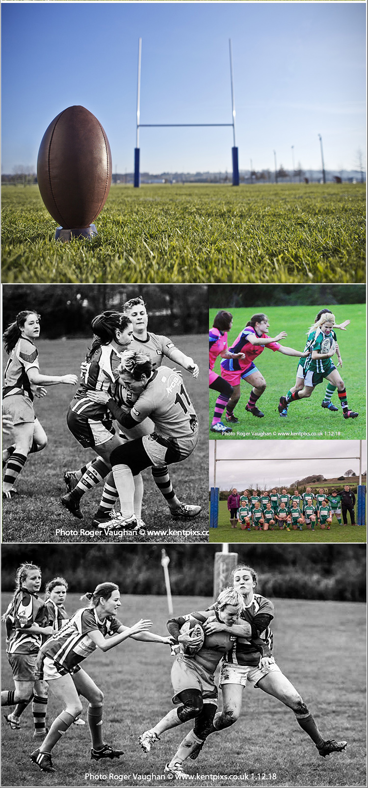 A day of high action Rugby photography with the Salisbury Womens Rugby Club, Saturday 13th April 2019