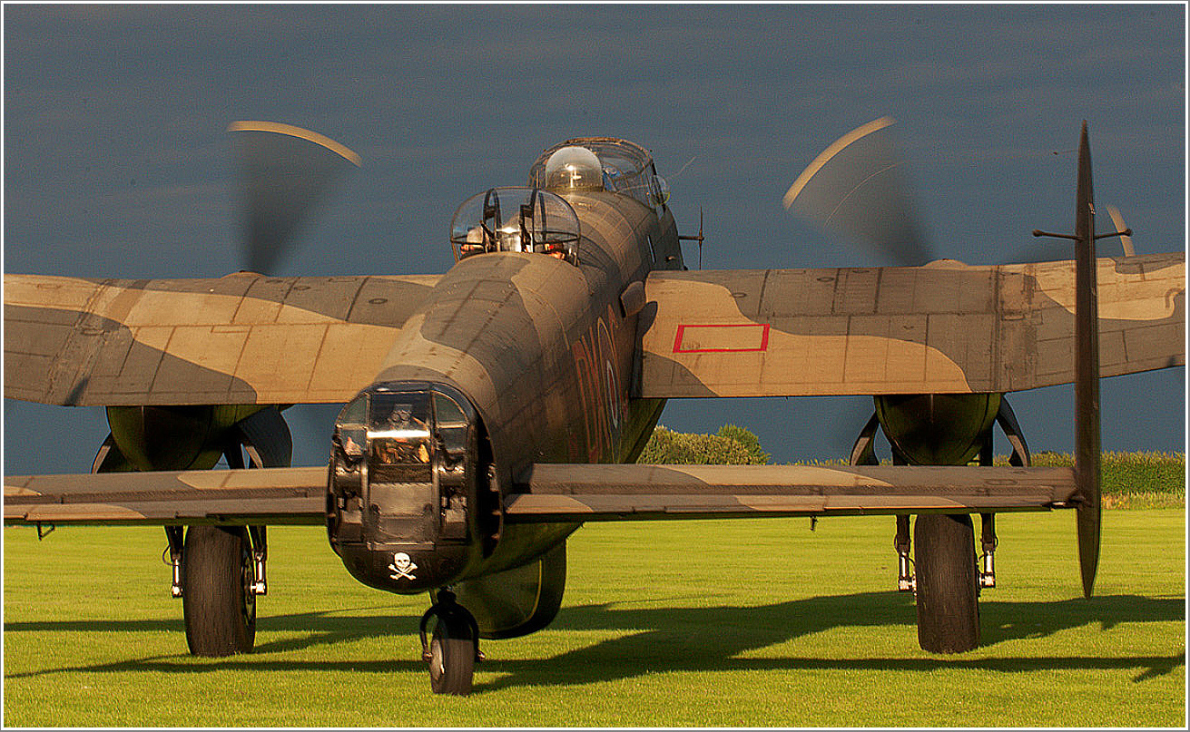 Lancaster Just Jane Taxi Ride and Nightshoot, Saturday 27th April 2019