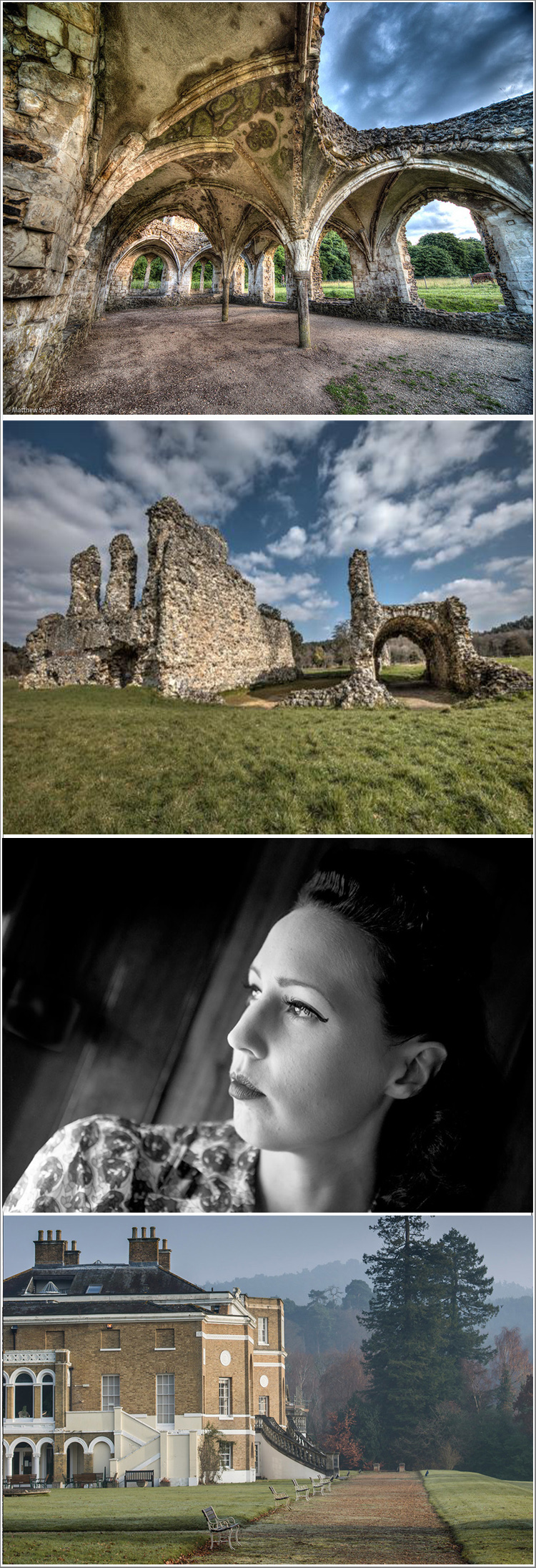 Period Portraits at Waverley Abbey Statley House and the Romantic Ruins of Waverley Abbey, Thursday 22nd August 2019