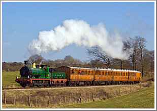 ***SOLD OUT***<br/><br/>A full day of vintage Steam with SECR-liveried '01' Class No.65 at the head of vintage passenger stock, Monday 19th February 2018