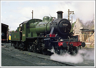 ***ONLY 15 TICKETS LEFT***<br/><br/>Ivatt '2MT' Class 2-6-0 No.46521 with a 1950s van train at the Great Central Railway, 30th January 2018