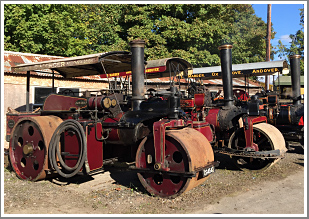 Up to eleven engines, their crews & vintage machinery transport us back to the age of working steam, Saturday 20th April 2019