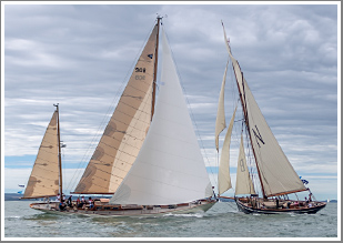 A day chasing and photographing the competitors during the Panerai British Classic's Regatta, Thursday 18th July 2019