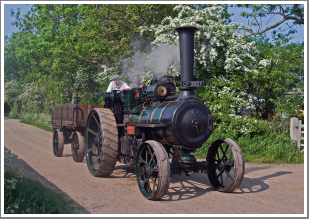 Turning Back the Clock, with Steam Ploughing, Thrashing and Farming at Weeting in East Anglia, Sunday 28th April 2019