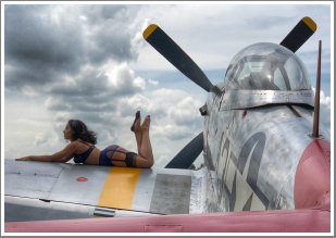Recreating those Pin Up shots of the 1940's with WWII Fighter Planes, Thursday 13th June 2019, 15:15-17:45