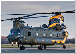 A afternoon, sunset & night shoot at RAF Odiham, Hampshire, Wednesday 20th March 2019