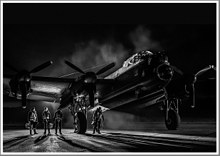 ***ONLY 5 TICKETS LEFT***<br/><br/>Lancaster Bomber Just Jane Night Shoot, with RAF Re-Enactors and WWII Vehicles, 3rd November 2017