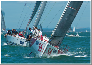 A day on the Solent chasing and photographing the competitors during the Cowes Regatta, Tuesday 13th August 2019