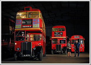 Recreating the sights and sounds of a traditional London Bus Garage, Sunday 28th January 2018