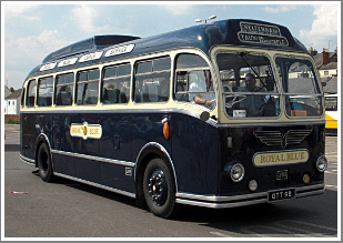 Join us for a day in the picturesque Cotswolds with a beautifully restored 1953 Royal Blue coach, Tuesday 31st July 2018