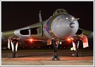 A Cold War Avro Vulcan shoot with B2 XL426 at Southend Airport, Saturday 23rd March 2019