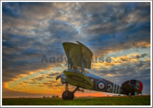 A WWI early morning Sunrise shoot with engine runs and re-enactors, 21st April 2018