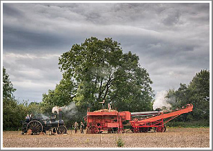 Early morning atmosphere down on the farm plus Steam Ploughing, Thrashing and many other aspects of Farming from a bygone era, Monday 29th April 2019