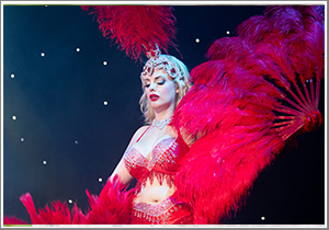 A day of Burlesque photography: dancing, glitz and outrageous outfits on the stage at the Belgrave Music Hall, 13:30 - 16:00 Friday 5th April 2019