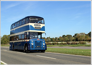 Join us for a day around the villages of Lincolnshire for a day of photography with a 1960 PD3 bus, Saturday 22nd June 2019